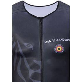 Bioracer Van Vlaanderen Haalarit, black